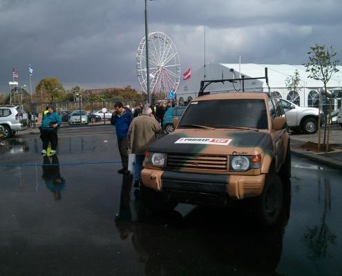 רכב אוטונומי פיתוח חברת פרוג'יפ-טק